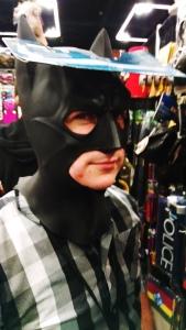 Adjusted Batman Mask